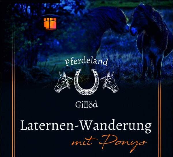 Laternen-Wanderung mit Ponys